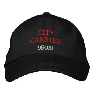 CITY CARRIER, Hat Embroidered Hat