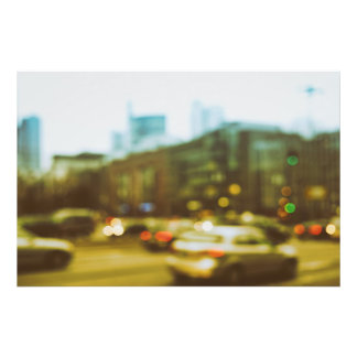 City center abstractly photo print