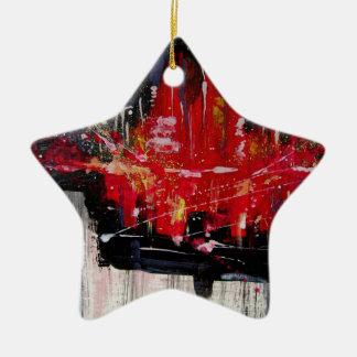 city ceramic ornament