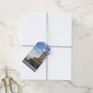 City - Chicago IL - Chicago harbor lighthouse Pack Of Gift Tags