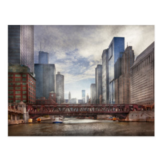 City - Chicago, IL - Looking toward the future Postcards