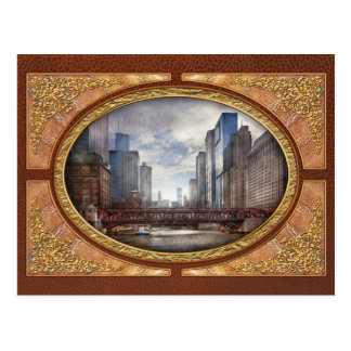 City - Chicago, IL - Looking toward the future Postcard