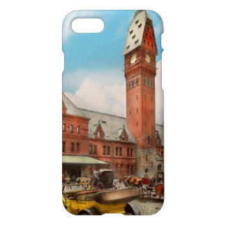 City - Chicago Ill - Dearborn Station 1910 iPhone 8/7 Case