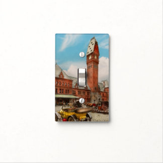City - Chicago Ill - Dearborn Station 1910 Light Switch Cover