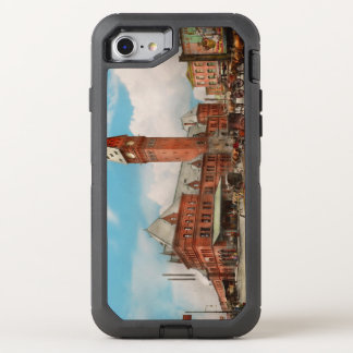 City - Chicago Ill - Dearborn Station 1910 OtterBox Defender iPhone 8/7 Case