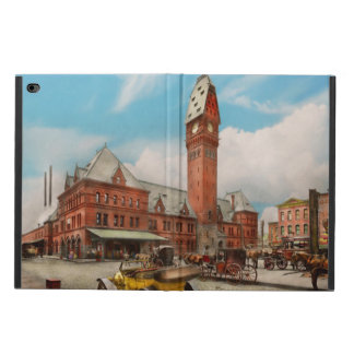 City - Chicago Ill - Dearborn Station 1910 Powis iPad Air 2 Case