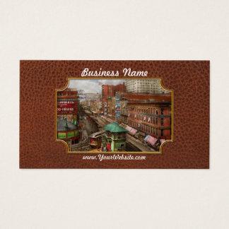 City - Chicago - Piano Row 1907 Business Card