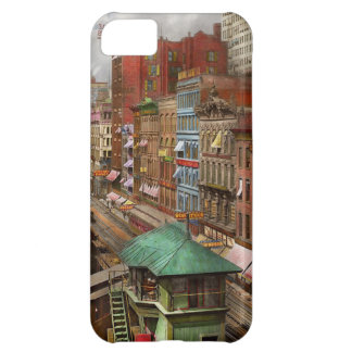 City - Chicago - Piano Row 1907 Case For iPhone 5C