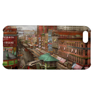 City - Chicago - Piano Row 1907 Cover For iPhone 5C