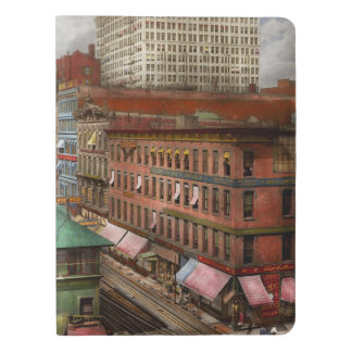 City - Chicago - Piano Row 1907 Extra Large Moleskine Notebook