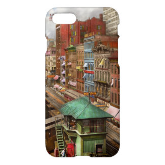 City - Chicago - Piano Row 1907 iPhone 8/7 Case