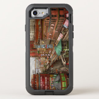 City - Chicago - Piano Row 1907 OtterBox Defender iPhone 8/7 Case