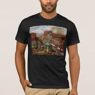 City - Chicago - Piano Row 1907 T-Shirt