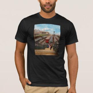 City - Chicago - The Van Buren Street Station 1907 T-Shirt