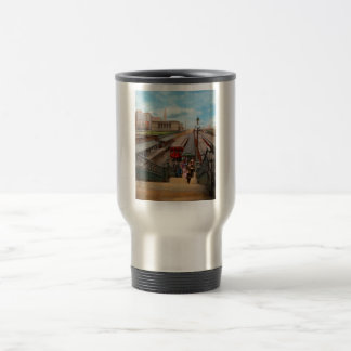 City - Chicago - The Van Buren Street Station 1907 Travel Mug