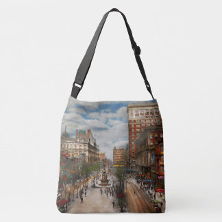 City Cincinnati OH - Tyler Davidson Fountain 1907 Crossbody Bag