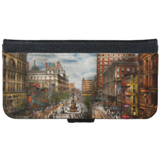 City Cincinnati OH - Tyler Davidson Fountain 1907 iPhone 6 Wallet Case