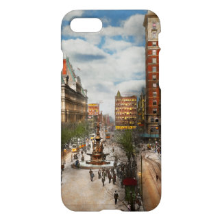 City Cincinnati OH - Tyler Davidson Fountain 1907 iPhone 8/7 Case
