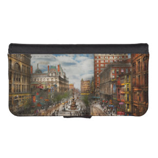 City Cincinnati OH - Tyler Davidson Fountain 1907 iPhone SE/5/5s Wallet Case