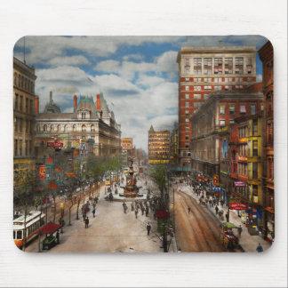 City Cincinnati OH - Tyler Davidson Fountain 1907 Mouse Pad