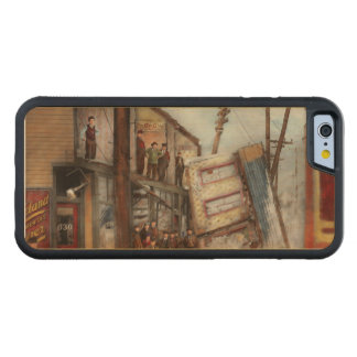 City - Cleveland OH - Open house 1913 Carved Maple iPhone 6 Bumper Case