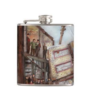 City - Cleveland OH - Open house 1913 Hip Flask
