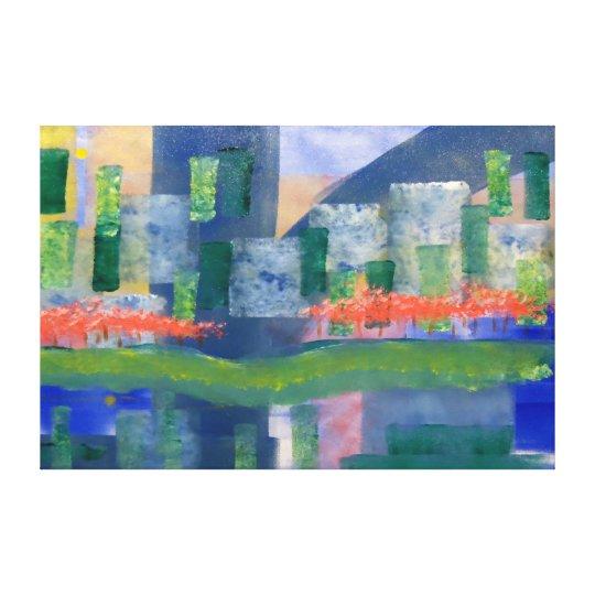 "City Colours -60x40"" Wall Canvas"