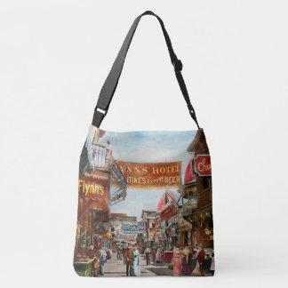City - Coney Island NY - Bowery Beer 1903 Crossbody Bag