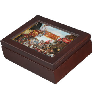 City - Coney Island NY - Bowery Beer 1903 Keepsake Box