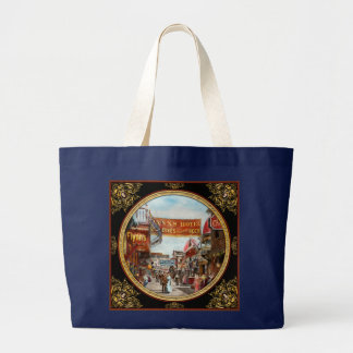 City - Coney Island NY - Bowery Beer 1903 Large Tote Bag