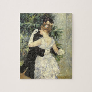 City Dance by Pierre Renoir, Vintage Fine Art Jigsaw Puzzle