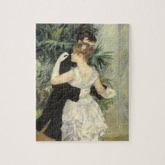 City Dance by Pierre Renoir, Vintage Fine Art Jigsaw Puzzle