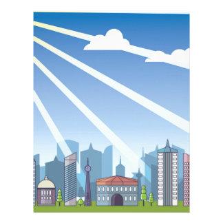 City daylight letterhead