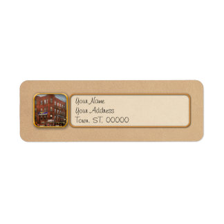 City - DC - Candy, Cigars, Souvenirs 1920 Return Address Label
