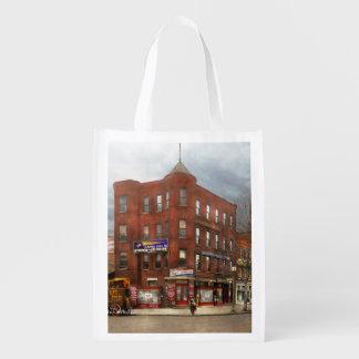 City - DC - Candy, Cigars, Souvenirs 1920 Reusable Grocery Bag