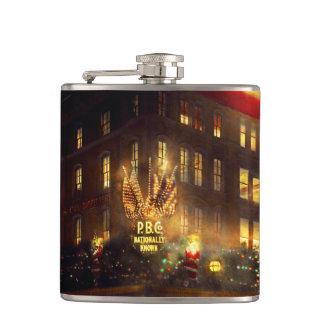 City - DC - Parker & Bridget Co 1921 Hip Flask