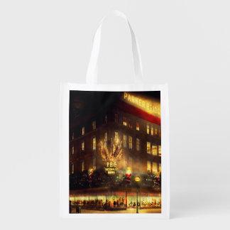 City - DC - Parker & Bridget Co 1921 Reusable Grocery Bags