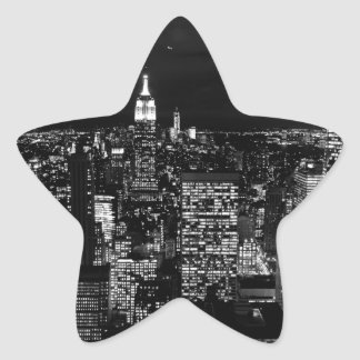 CIty Design Star Sticker