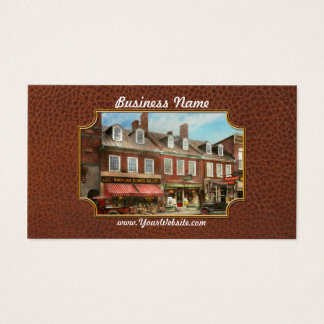 City - Easton MD - A slice of American life 1936 Business Card