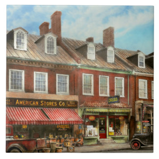 City - Easton MD - A slice of American life 1936 Ceramic Tile