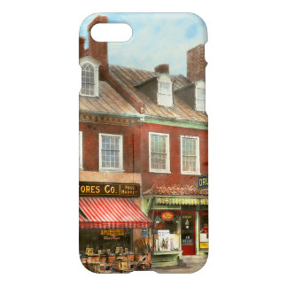 City - Easton MD - A slice of American life 1936 iPhone 8/7 Case
