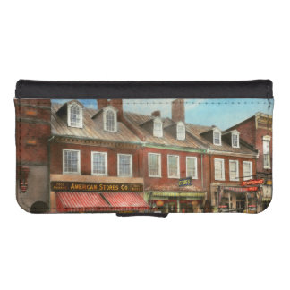 City - Easton MD - A slice of American life 1936 iPhone SE/5/5s Wallet Case