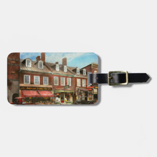 City - Easton MD - A slice of American life 1936 Luggage Tag