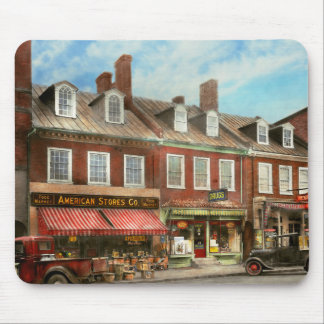 City - Easton MD - A slice of American life 1936 Mouse Pad