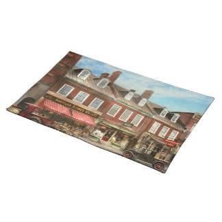City - Easton MD - A slice of American life 1936 Placemat