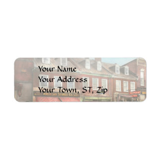 City - Easton MD - A slice of American life 1936 Return Address Label