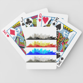 City Edge Bicycle Playing Cards