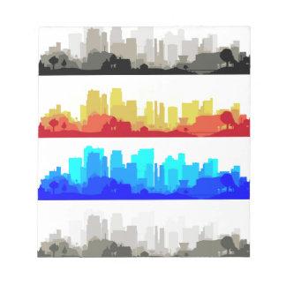 City Edge Notepad