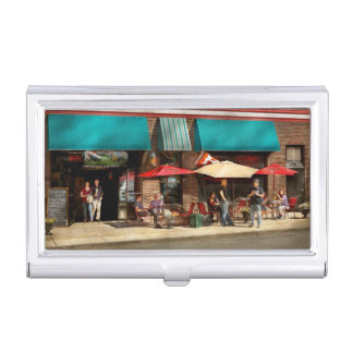 City - Edison NJ - Pino's basket shop Business Card Holder