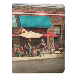City - Edison NJ - Pino's basket shop Extra Large Moleskine Notebook